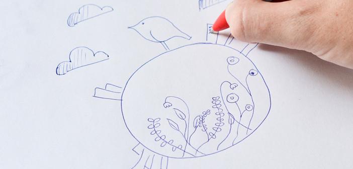 Doodling: zure izaera azal dezaketen zirrimarrak